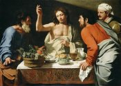 Bartolomeo Cavarozzi  - The Supper at Emmaus