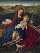 After Robert Campin - The Madonna of Humility