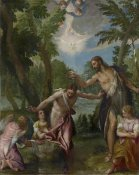 Paolo Veronese - The Baptism of Christ