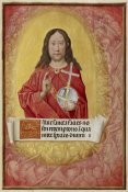 Unknown 16th Century Flemish Illuminator - Christ in Majesty