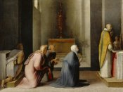 Domenico Beccafumi - The Miraculous Communion of Saint Catherine of Siena
