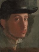 Edgar Degas - Self-portrait