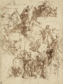 Paolo Veronese - Sheet of Studies for The Martyrdom of Saint George