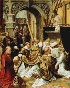 Adriaen Ysenbrandt - The Mass of Saint Gregory the Great