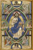 Unknown 12th Century Illuminator - Christ in Majesty