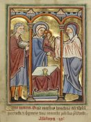 Unknown 12th Century English Illuminator - The Presentation in the Temple