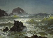 Albert Bierstadt - Seal Rock, California