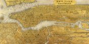 Joannoo - Gilded Map of NYC