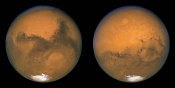 NASA - Two Sides of Mars, Aug. 23, 2003