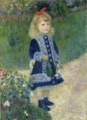 Pierre-Auguste Renoir - A Girl with a Watering Can, 1876