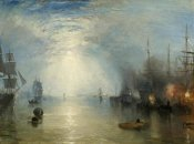 Joseph Mallord--William Turner - Keelmen Heaving in Coals by Moonlight, 1835