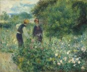 Pierre-Auguste Renoir - Picking Flowers