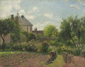 Camille Pissarro - The Artist's Garden at Eragny, 1898