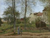 Camille Pissarro - Houses at Bougival (Autumn)
