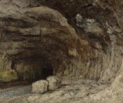 Gustave Courbet - Grotto of Sarrazine near Nans-sous-Sainte-Anne