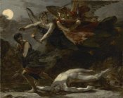 Pierre-Paul Prudhon - Justice and Divine Vengeance Pursuing Crime