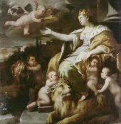 Luca Giordano - Allegory of Magnanimity