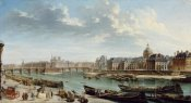 Jean-Baptiste Raguenet - A View of Paris with the Ile de la Cité