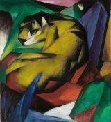Franz Marc - The Tiger, 1912
