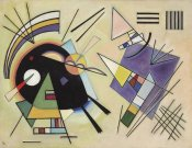 Wassily Kandinsky - Black and Violet, 1923