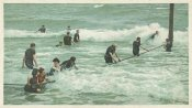 Detroit Publishing Co. - Surf Bathing, Palm Beach, Fla., 1898
