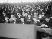 Harris and Ewing Collection (Library of Congress) - Baseball Spectators, between 1915-17