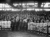 Harris and Ewing Collection (Library of Congress) - Washington Baseball - Teams and Spectators, 1924