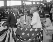 Harris and Ewing Collection (Library of Congress) - President Woodrow Wilson at a Baseball Game