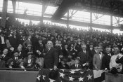 Harris and Ewing Collection (Library of Congress) - President Harding at Baseball Game, Washington