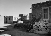 Ansel Adams - Street and Houses - Acoma Pueblo, New Mexico - National Parks and Monuments, ca. 1933-1942