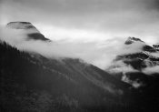 Ansel Adams - Veiled Mountains, Glacier National Park, Montana - National Parks and Monuments, 1941