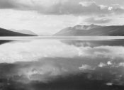 Ansel Adams - McDonald Lake, Glacier National Park, Montana - National Parks and Monuments, 1941