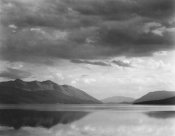 Ansel Adams - Evening, McDonald Lake, Glacier National Park, Montana - National Parks and Monuments, 1941