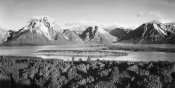 Ansel Adams - Mt. Moran and Jackson Lake from Signal Hill, Grand Teton National Park, Wyoming, 1941