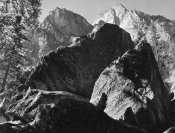 Ansel Adams - Grand Sentinel, Kings River Canyon, proposed as a national park, California, 1936