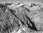 Ansel Adams - Mt. Brewer, Kings River Canyon,  proposed as a national park, California, 1936