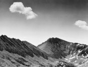 Ansel Adams - Coloseum Mountain, Kings River Canyon, proposed as a national park, California, 1936