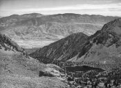 Ansel Adams - Owens Valley from Sawmill Pass, Kings River Canyon, proposed as a national park, California, 1936