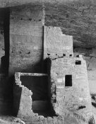 Ansel Adams - Close-up, Cliff Palace, Mesa Verde National Park, Colorado, 1941