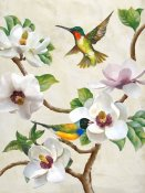 Terry Wang - Magnolia and Birds