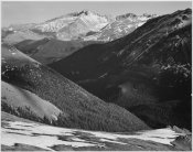 Ansel Adams - Long's Peak in Rocky Mountain National Park, Colorado, ca. 1941-1942