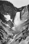 Ansel Adams - Yellowstone Falls, Yellowstone National Park, Wyoming. ca. 1941-1942