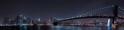 Fabien Bravin - Manhattan Skyline And Brooklyn Bridge