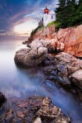 Mircea Costina - Sunset At Bass Harbor Lighthouse