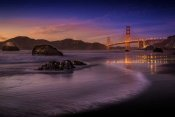 Mike Leske - Golden Gate Bridge Fading Daylight