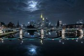 Mike Match-Photo - Frankfurt At Full Moon