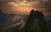 Mieke Suharini - Dawn At Li River