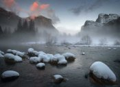 Jianyi Wu - Yosemite Valley At Sunset