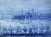 Joseph Pennell - Blue Night, London