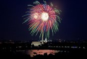 Carol Highsmith - July 4th fireworks, Washington, D.C.